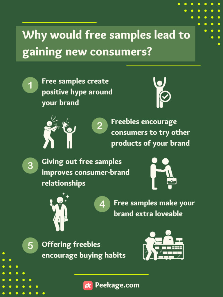 benefits of free samples