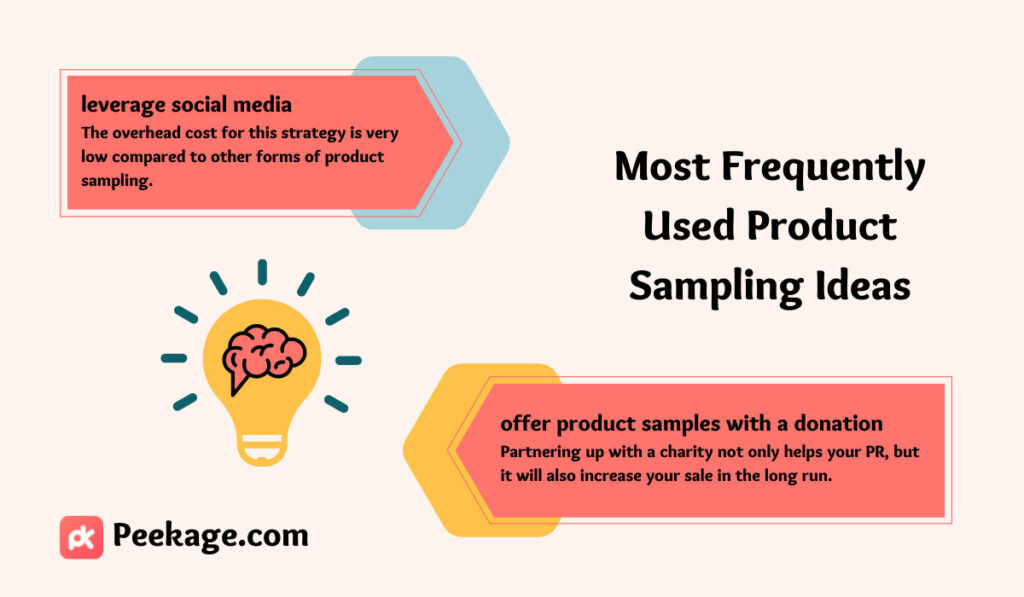 product sampling ideas