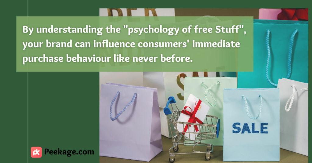 psychology of free Stuff